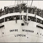 Migrants on the SS Empire Windrush in 1948